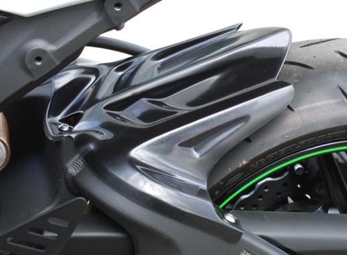 リアフェンダー 黒FRP CLEVER WOLF RACING(クレバーウルフレーシング) ZX-6R(09年~)/ZX-6R(636)13年~