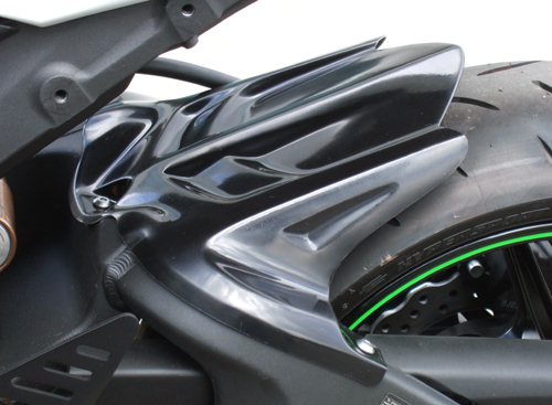 リアフェンダー カーボン綾織 CLEVER WOLF RACING(クレバーウルフレーシング) ZX-6R(09年~)/ZX-6R(636)13年~