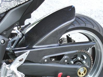 リアフェンダー カーボン綾織 CLEVER WOLF RACING(クレバーウルフレーシング) Ninja1000(ニンジャ)11年~