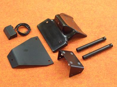 フェンダーレスキット 黒FRP CLEVER WOLF RACING(クレバーウルフレーシング) ZX-10R(11年~)