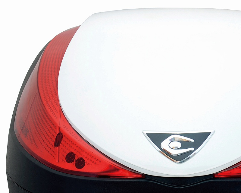V28 Fusion(フュージョン)SPEC-F2 パールホワイト・スモークレンズ 28L COOCASE(クーケース)