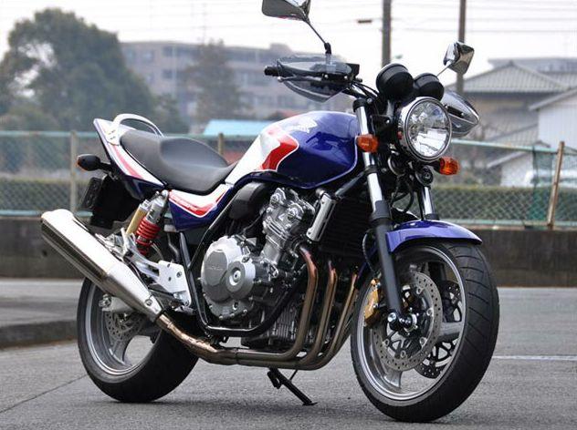 ガイラガントレット スモーク CHIC DESIGN(シックデザイン) CB400SF VTEC Revo(08年~)
