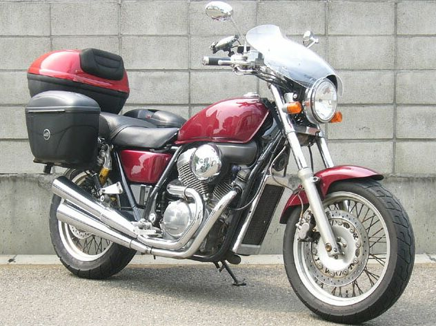 ガイラシールド Lサイズ クリア CHIC DESIGN(シックデザイン) VRX400(ロードスター)95~99年