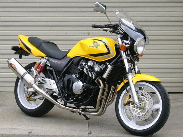 ガイラシールド Mサイズ スモーク CHIC DESIGN(シックデザイン) CB400SF VTEC SPEC2(02~03年)