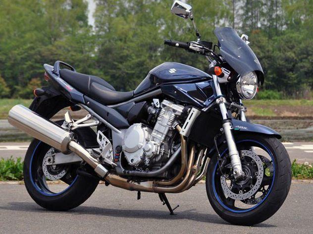 ガイラシールド Sサイズ クリア CHIC DESIGN(シックデザイン) バンディット1250 ABS(BANDIT)07年
