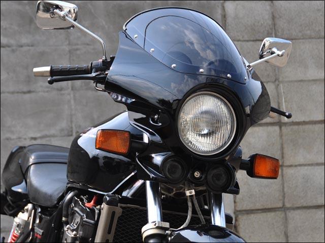 マスカロード クリアスクリーン ブラック(NH-1) CHIC DESIGN(シックデザイン) CB1000SF(T2)