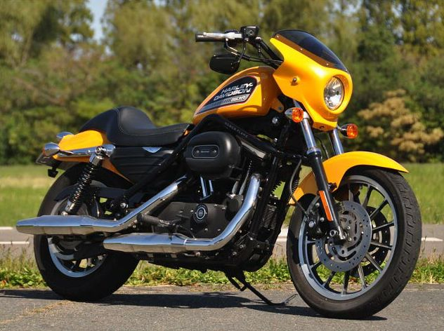 Iron Hornet(アイアンホーネット) ティーラ ショートタイプフェンダー(リア) パールイエロー CHIC DESIGN(シックデザイン) スポーツスターXL883/1200