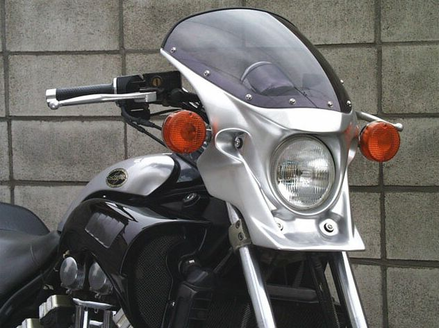 マスカロード クリアスクリーン マットチタン1(0620) 通常スクリーン CHIC DESIGN(シックデザイン) V-MAX1200(~08年)