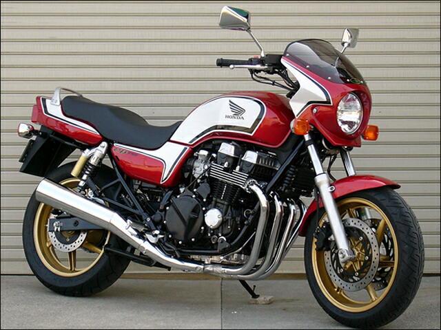 ロードコメット2 スモークスクリーン キャンディブレイジングレッド/ブラック(08年限定CBX1000カラー)R195/NH-1 通常スクリーン シックデザイン CB750(08年)