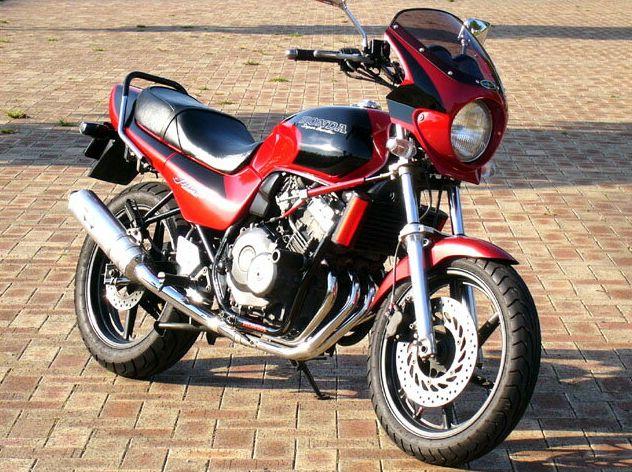 ロードコメット2 クリアスクリーン キャンディブルゴーニュレッド/ブラック(R-107CU/NH-1) 通常スクリーン シックデザイン ジェイド・S(JADE)91~95年