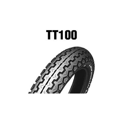 ダンロップタイヤ(DUNLOP)TT100(フロント)(リア)4.10H18 4PR チューブレス