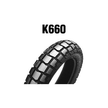 ダンロップタイヤ(DUNLOP)K660(リア)130/90-17 MC 68S WT