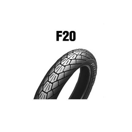 ダンロップタイヤ(DUNLOP)F20(フロント)110/90-18 MC 61V チューブレス