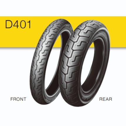 130/90B16 M/C 73HB D401 リア用 タイヤ TL DUNLOP(ダンロップ)