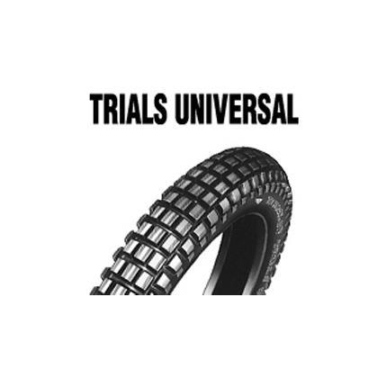 ダンロップタイヤ DUNLOP TRIALS UNIVERSAL リア MC ショップ 110 お気に入 WT 61P 90-18