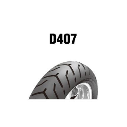 ダンロップタイヤ(DUNLOP)D407(リア)180/55B18 MC 80H(BW) チューブレス