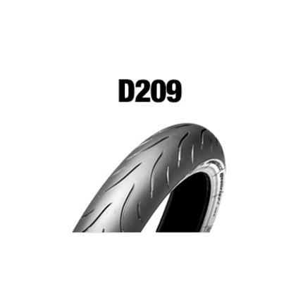 ダンロップタイヤ(DUNLOP)D209F(フロント)120/70ZR18 MC 59W チューブレス