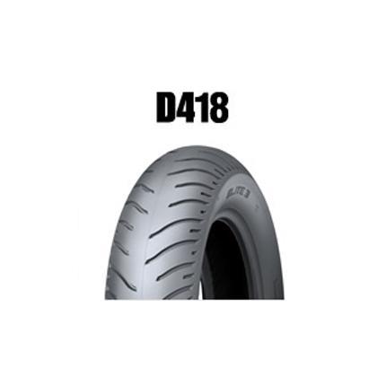 ダンロップタイヤ(DUNLOP)D418(リア)140/80-17 MC 69H チューブレス