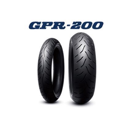 ダンロップタイヤ(DUNLOP)SPORTMAX(スポーツマックス) GPR-200F(フロント)110/80ZR18 MC 58W チューブレス