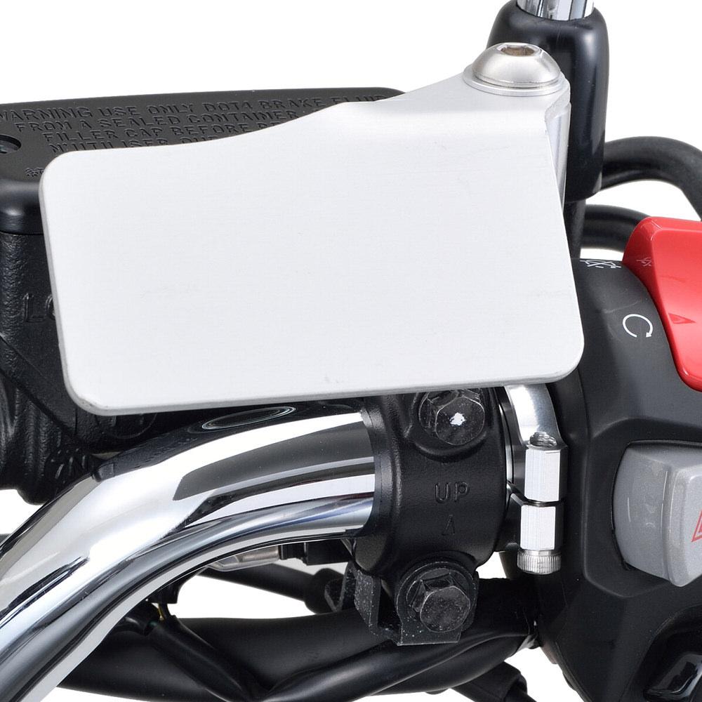 ハンドルクランプ Φ25.4mm対応 M8穴 トップタイプ ユニバーサルクランプ ブラック DAYTONA(デイトナ)