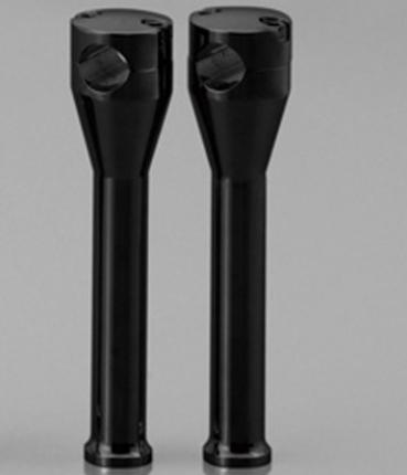 ハンドルライザー・ポスト DAYTONA(デイトナ)グライドライザー ブラック 8インチ ハーレー汎用