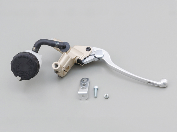 NISSINブレーキマスターシリンダーキット(横型/タンク別体式 5/8インチ約15.9mm)ゴールド レバーカラーバフクリア DAYTONA(デイトナ)