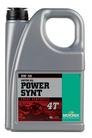 パワーシント 4T(5W-40) 4リットル(4L) 4サイクル用エンジンオイル MOTOREX(モトレックス)