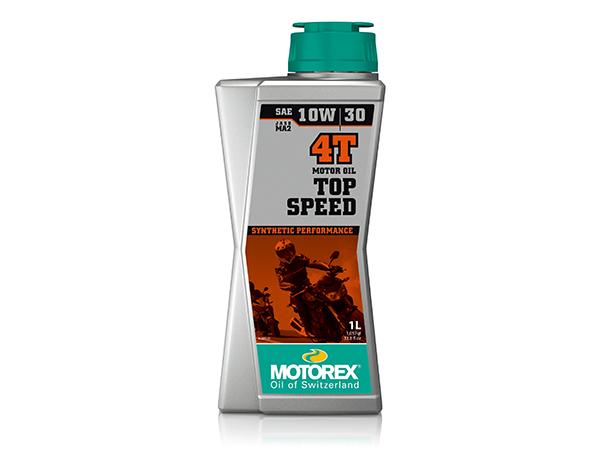 トップスピード MC 4T 10W-30 送料無料お手入れ要らず 1リットル MOTOREX 4サイクル用エンジンオイル モトレックス 公式 1L
