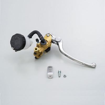 NISSINラジアルブレーキマスターシリンダー縦型Φ19(3/4インチ) ゴールド レバーカラー シルバー DAYTONA(デイトナ)