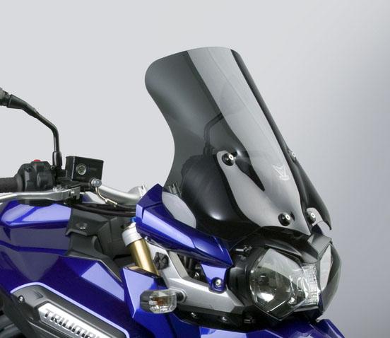 NATIONAL CYCLE VStreamウインドシールド ダークスモーク H424×W472mm DAYTONA(デイトナ) TRIUMPH Tiger Explorer/XC(12~14年)