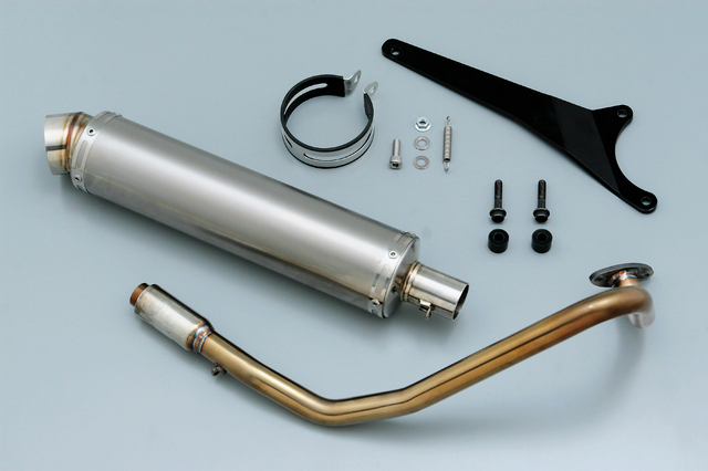 サイレントスポーツマフラー2 DAYTONA(デイトナ) アドレスV125/G/Gリミテッド(CF46A K5/K6/K7)