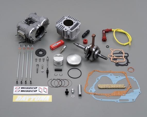 フィンガーフォロアー DOHC ボア&ストロークアップキット(124.8cc) DAYTONA(デイトナ) モンキー/ゴリラ(MONKEY)