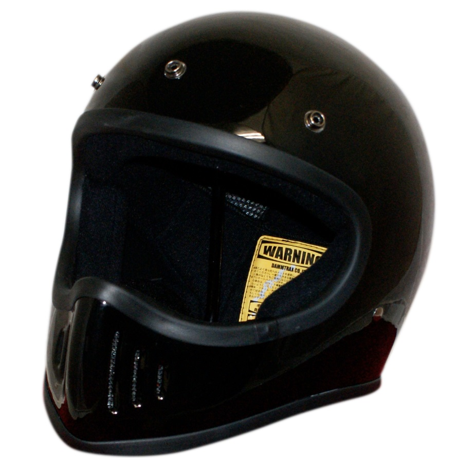 BLASTER-改(ブラスター カイ)ヘルメット ブラック Mサイズ DAMM TRAX(ダムトラックス)