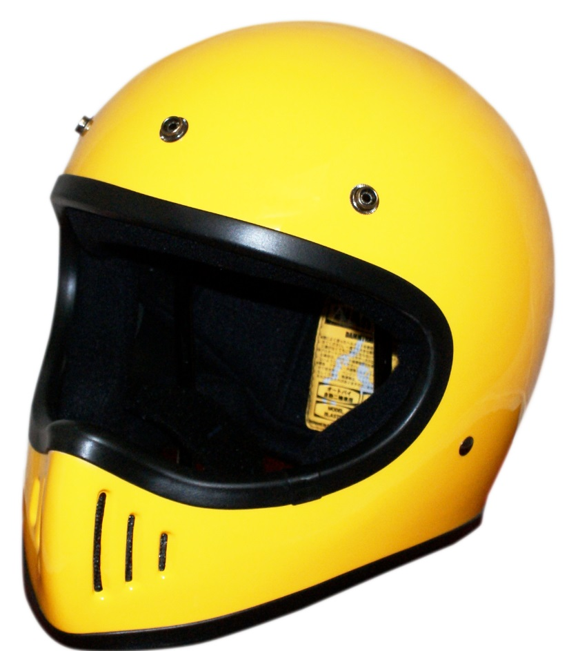 BLASTER-改(ブラスター カイ)ヘルメット イエロー Mサイズ DAMM TRAX(ダムトラックス)