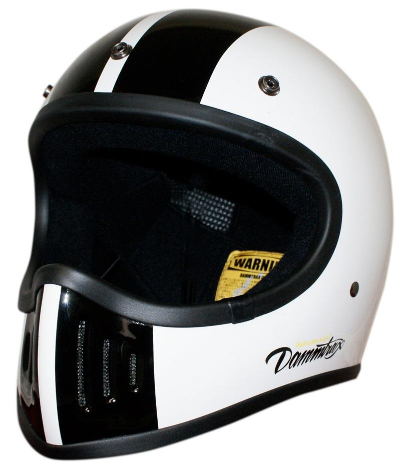 THE BLASTER COBRA-改(ブラスターコブラ カイ)ヘルメット ホワイト Lサイズ DAMM TRAX(ダムトラックス)