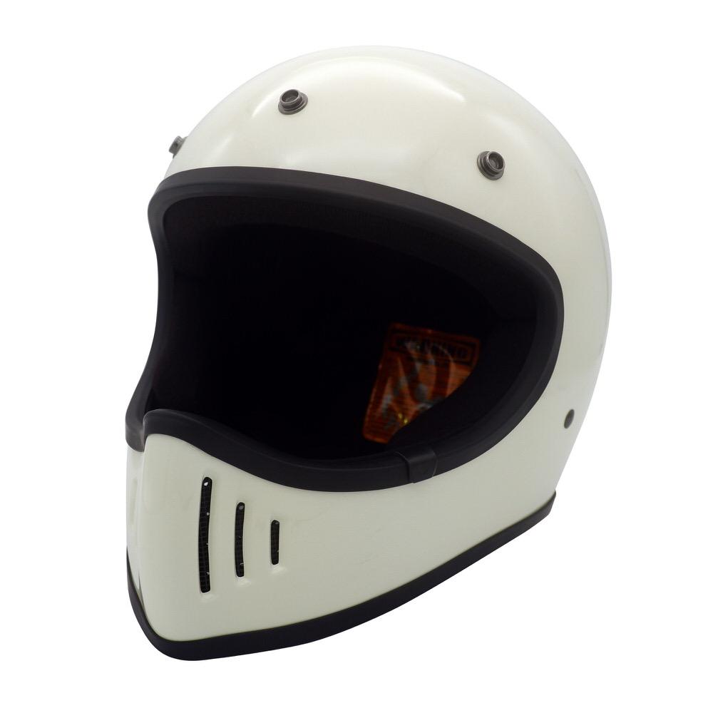 BLASTER-改(ブラスター カイ)ヘルメット オフホワイト Lサイズ DAMM TRAX(ダムトラックス)