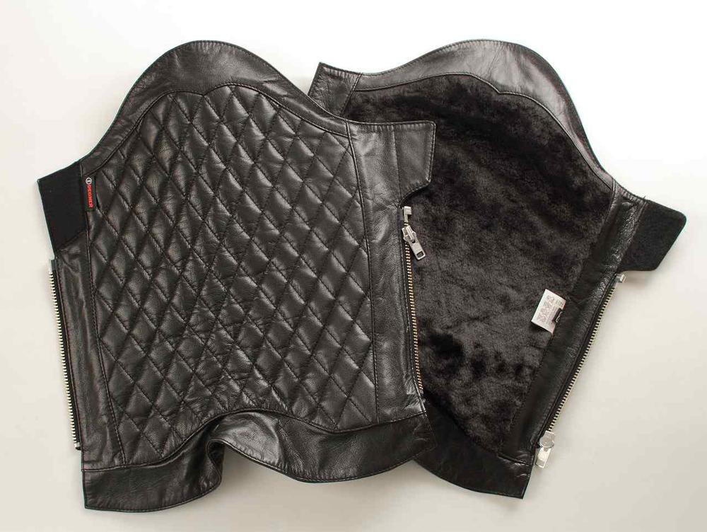 【送料無料】 ブーツチャップス ブラック Mサイズ DEGNER(デグナー)