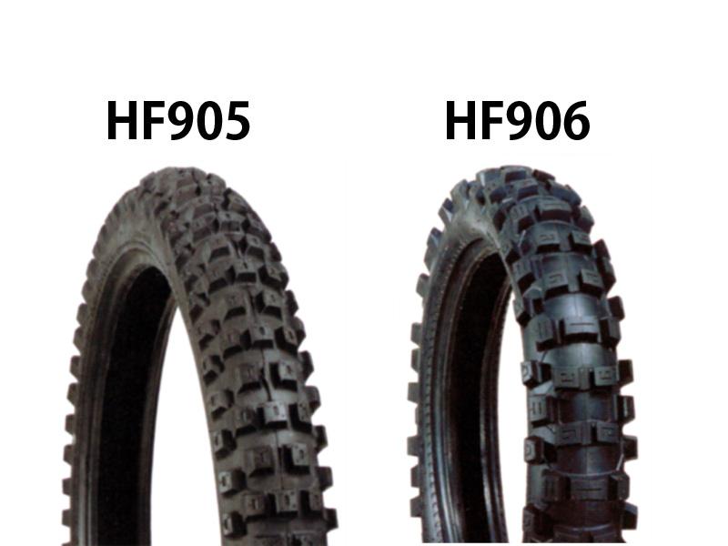 タイヤ前後セット HF905 80/100-21・HF906 100/100-18 DURO(デューロ) CR125R