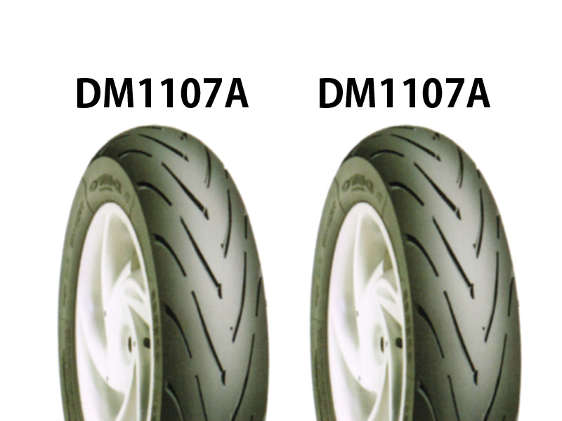 タイヤ前後セット DM1107A 100/90-12・DM1107A 120/80-12 DURO(デューロ) NSR50
