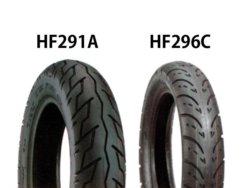 タイヤ前後セット HF261A 100/90-19・HF296C 170/80-15 DURO(デューロ) スティード400(STEED)