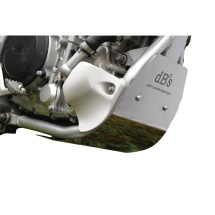 チタンアンダーガード ホワイトチタン dBs(ディービーズ) WR250X