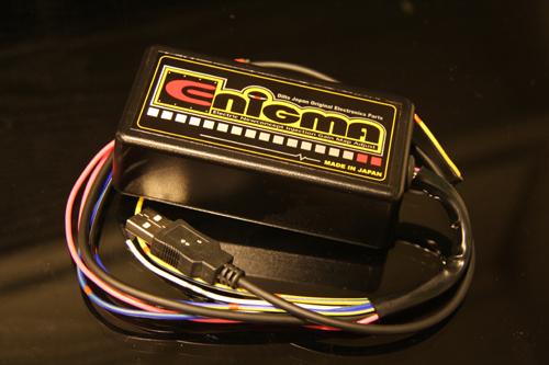 ENIGMA(エニグマ)インジェクションコントロールサブコン USB接続モデル DiLTS(ディルツ ジャパン) ジョグZR(SA39J)