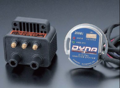 デジタル・パフォーマンス・イグニッションシステム DYNA2000i本体&DC2-1×2pc DYNATEK(ダイナテック) スポーツスター(SPORTSTER)