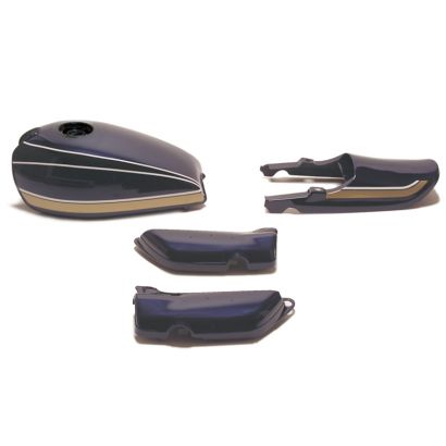 青玉虫 塗装済みスチールタンクセット A/P(エアプレーンキャップ仕様) ドレミコレクション(Doremi Collection) Z1・Z2