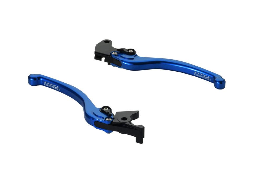 スムースフィットレバー ブルー EFFEX(エフェックス) SV650 ABS