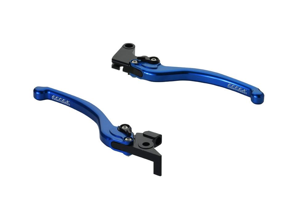FAZER スムースフィットレバー ブルー EFFEX(エフェックス) FZ1
