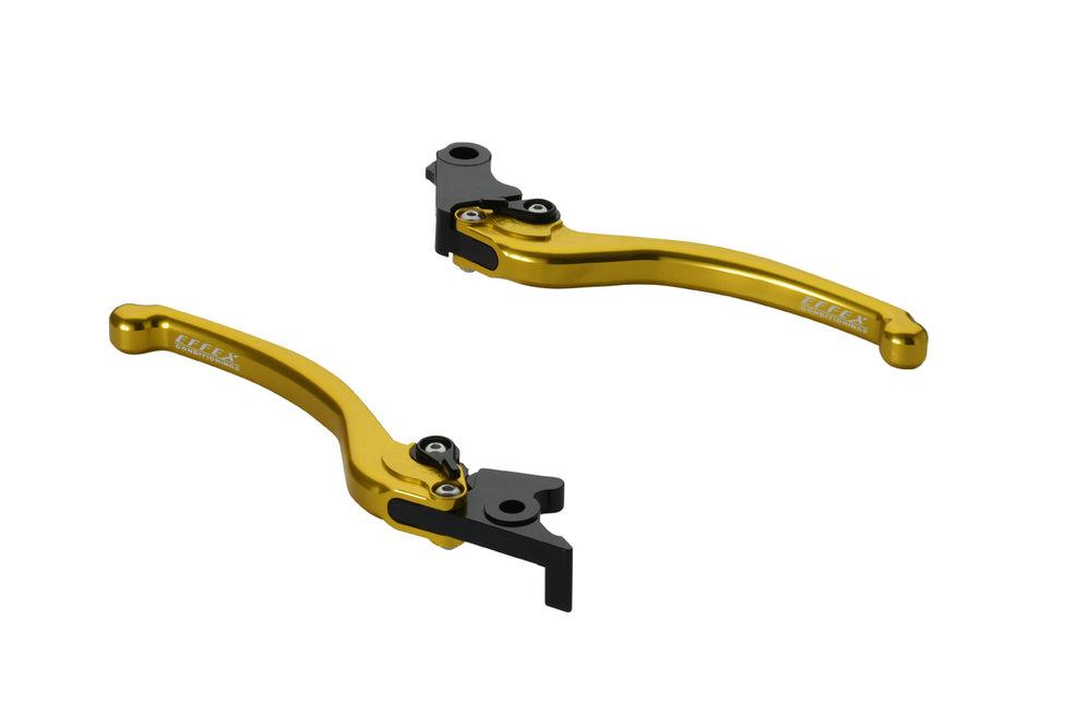 スムースフィットレバー ゴールド EFFEX(エフェックス) モンキー125(MONKEY125)