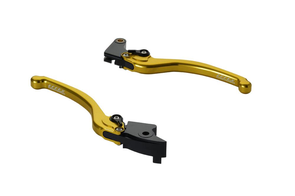 スムースフィットレバー ゴールド EFFEX(エフェックス) CBR600RR(03~06年)