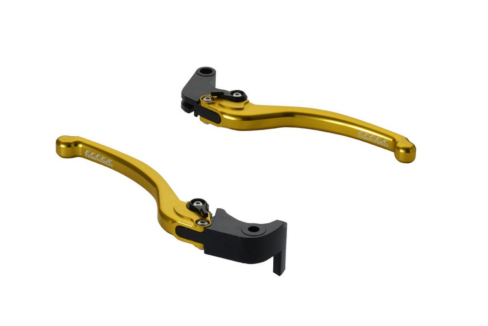 スムースフィットレバー ゴールド EFFEX(エフェックス) GSX-R600(11~18年)