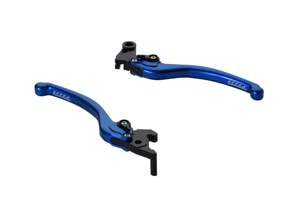 スムースフィットレバー ブルー EFFEX(エフェックス) YZF-R3(15~19年)